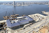 1983 March 04..Redevelopment.Downtown South (R-9)..WATERSIDE.CONSTRUCTION PROGRESS...NEG#.NRHA#..