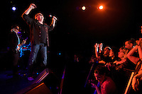 Multi-platinum, Canadian rock band Loverboy play to a near capacity crowd, Friday, Jan. 16th 2009, at The Commodore in Vancouver.  Loverboy will be inducted to the Canadian Music Hall of Fame in 2009. (Scott Alexander/pressphotointl.com)