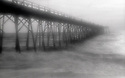PL12122-00...NORTH CAROLINA - Pinhole image of Crystal Pier at Wrightsville Beach.