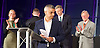Mayor of London and London Assembly results announcement at City Hall, London, Great Britain <br /> 6th May 2016 <br /> <br /> <br /> Sian Berry - Green Party <br /> <br /> Paul Golding - Britain First <br /> <br /> Zac Goldsmith - Conservative<br /> <br /> <br /> Sadiq Khan - Labour <br /> <br /> Lee Harris - CISTA<br /> <br /> <br /> The winner was Sadiq Khan who is appointed the new mayor of London <br /> <br /> <br /> <br /> Photograph by Elliott Franks <br /> Image licensed to Elliott Franks Photography Services