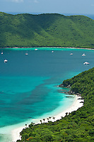 Cinnamon Bay.Virgin Islands National Park.St John.US Virgin Islands