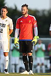 28 August 2015: FIU's Robin Spiegel (GER). The University of North Carolina Tar Heels hosted the Florida International University Panthers at Fetzer Field in Chapel Hill, NC in a 2015 NCAA Division I Men's Soccer match. North Carolina won the game 1-0