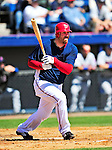 6 March 2010: Washington Nationals' first baseman Adam Dunn in action during a Spring Training game against the New York Mets at Space Coast Stadium in Viera, Florida. The Mets defeated the Nationals 14-6 in Grapefruit League action. Mandatory Credit: Ed Wolfstein Photo