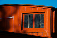 Canadian National Railway 1920s Caboose 76904 at the CN Fort Langley Station
