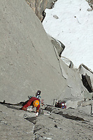 Trask Bradbury leading Mctech Arete 2nd Pitch