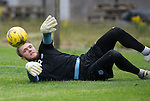 St Johnstone Training&hellip;22.07.16<br />Keeper Zander Clark pictured during training this morning at McDiarmid Park ahead of tomorrows Betfred Cup game against Falkirk.<br />Picture by Graeme Hart.<br />Copyright Perthshire Picture Agency<br />Tel: 01738 623350  Mobile: 07990 594431