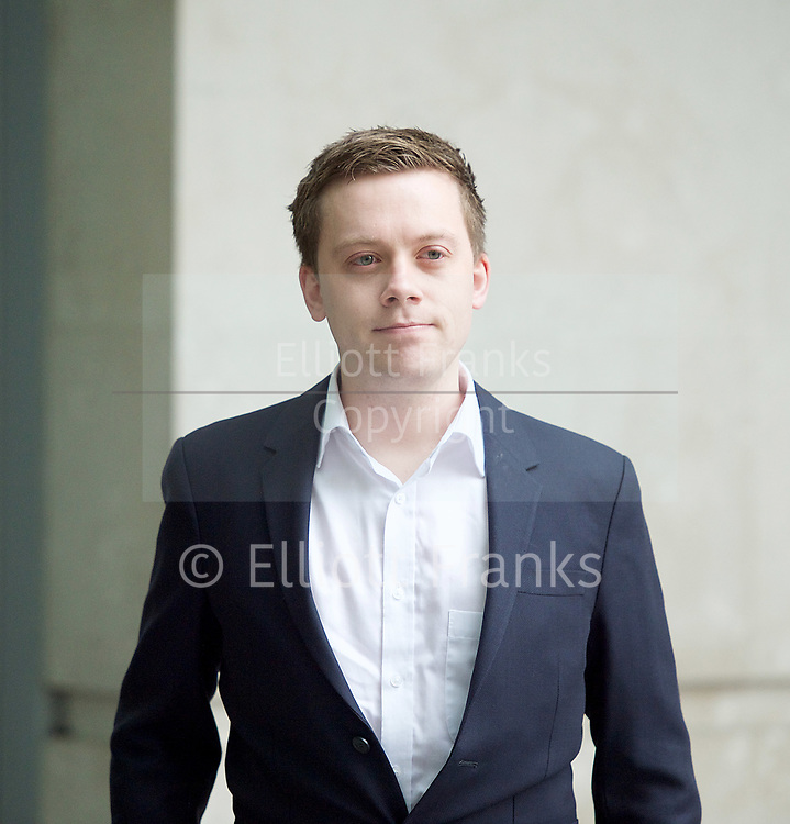 Andrew Marr Show arrivals <br /> BBC, Broadcasting House, London, Great Britain <br /> 12th March 2017 <br /> <br /> <br /> Owen Jones <br /> <br /> <br /> Photograph by Elliott Franks <br /> Image licensed to Elliott Franks Photography Services