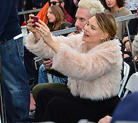 Behati Prinsloo at the Hollywood Walk of Fame Star Ceremony honoring singer Adam Levine. Los Angeles, USA 10 February  2017<br /> Picture: Paul Smith/Featureflash/SilverHub 0208 004 5359 sales@silverhubmedia.com