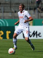 FUSSBALL  DFB POKAL        SAISON 2012/2013 SpVgg Unterchaching - 1. FC Koeln  18.08.2012 Daniel Royer (1. FC Koeln)