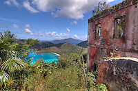 View of Maho Bay from <br />