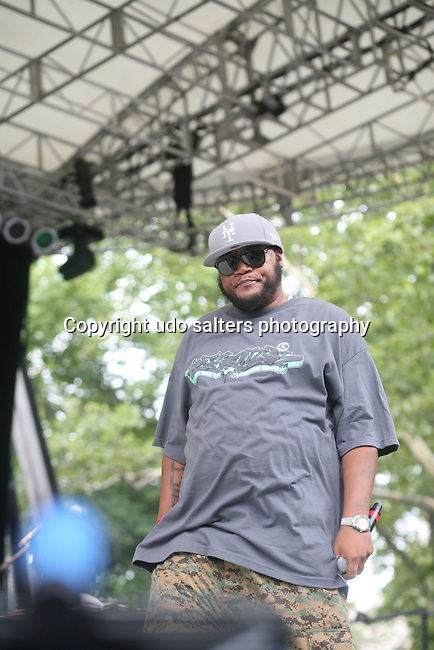 Craig G Performs at Rock Steady Crew 36th Year Anniversary Celebration at Central Park's SummerStage, NY