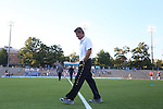 13 September 2013: Maryland head coach Sasho Cirovski. The University of North Carolina Tar Heels hosted the University of Maryland Terrapins at Fetzer Field in Chapel Hill, NC in a 2013 NCAA Division I Men's Soccer match. The game ended in a 2-2 tie after two overtimes.