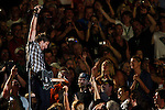 Keith Urban performs in the middle of fans during the CMA Fan Festival Friday, June 10, 2011 in Nashville, Tenn. (AP Photo/Wade Payne).