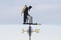 The Lord's weather vane Father Time ahead of Middlesex CCC vs Essex CCC, Specsavers County Championship Division 1 Cricket at Lord's Cricket Ground on 24th April 2017