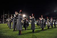 A general view of the band performing pre-match. Remembrance Rugby match, between Bath United and UK Armed Forces on November 9, 2015 at the Recreation Ground in Bath, England. Photo by: Patrick Khachfe / Onside Images