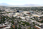 1309-22 2746<br /> <br /> 1309-22 BYU Campus Aerials<br /> <br /> Brigham Young University Campus, Provo, <br /> <br /> Downtown Provo City, Utah Valley, Y Mountain, Sunrise<br /> <br /> September 6, 2013<br /> <br /> Photo by Jaren Wilkey/BYU<br /> <br /> &copy; BYU PHOTO 2013<br /> All Rights Reserved<br /> photo@byu.edu  (801)422-7322