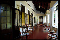 Veranda of a Colombo home.