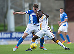 St Johnstone v Bradford City&hellip;19.07.16  McDiarmid Park, Perth. Pre-season Friendly<br />Craig Thomson battles with Mark Marshall<br />Picture by Graeme Hart.<br />Copyright Perthshire Picture Agency<br />Tel: 01738 623350  Mobile: 07990 594431