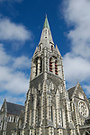 The Christchurch Cathedral dominates Cathedral Square in downtown Christchurch, New Zealand