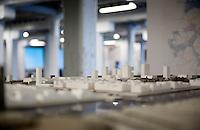 Exhibition of the scale models of the future Oosterweel verbinding in the Felixarchief, Antwerp (Belgium, 23/06/2009)