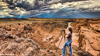 Cheyenne at Grand Falls, Arizona<br /> Photo by Ron Pelton Jr.