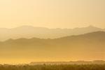 Sunrise in the hills.