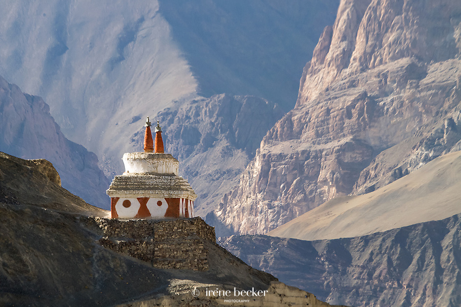 Stupa -Temisgam. Jammu and Kashmir,  India