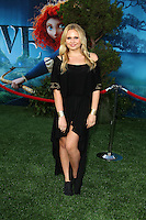 "LOS ANGELES - JUN 18:  Alli Simpson arrives at the ""Brave"" LAFF Premiere at Dolby Theatre on June 18, 2012 in Los Angeles, CA"