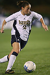 1 December 2006: Notre Dame's Kerri Hanks. The University of Notre Dame Fighting Irish defeated Florida State Seminoles 2-1 at SAS Stadium in Cary, North Carolina in an NCAA Division I Women's College Cup semifinal game.