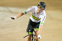 Picture by Alex Whitehead/SWpix.com - 03/03/2017 - Cycling - UCI Para-cycling Track World Championships - Velo Sports Center, Los Angeles, USA - Men's C3 3km Individual Pursuit. Gold - Australia's David Nicholas.