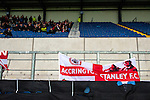 Oxford United 1 Accrington Stanley 2, 20/02/2016. Kassam Stadium, League Two. Oxford's home ground is the Kassam Stadium in Oxford and has a capacity of 12,500. United moved to the stadium in 2001 after leaving the Manor Ground, their home for 76 years. 119 supporters from Accrington in the away section. Photo by Simon Gill.