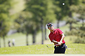 Shunsuke Sonoda, MAY 13, 2012 - Golf : Shunsuke Sonoda watches his approach shot to the 12th hole during the PGA Championship Nissin Cupnoodles Cup 2012 final round at Karasuyamajo Country Club, Tochigi, Japan. (Photo by Yusuke Nakanishi/AFLO SPORT) [1090]