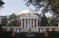The University of Virginia located in Charlottesville, VA.  Credit Image: © Andrew Shurtleff