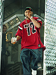 Rapper Juvenile aka Terius Gray of Cash Money Records in concert at Reunion Arena in Dallas, Texas July 1999.  Photo credit: Presswire News/Elgin Edmonds