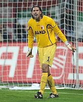 FUSSBALL   1. BUNDESLIGA  SAISON 2011/2012   10. Spieltag FC Augsburg - SV Werder Bremen           21.10.2011 Torwart Simon Jentzsch (FC Augsburg)