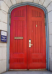 Red Door of St' Paul's Church, Sacramento