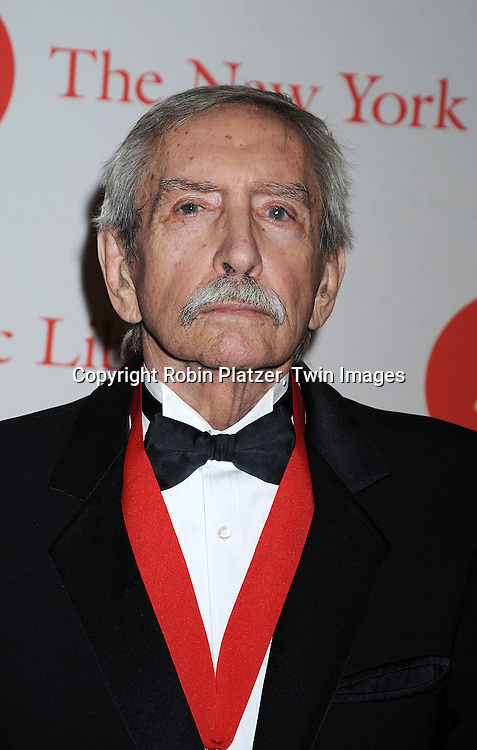 Edward Albee ..arriving at The New York Public Library 2008 Library Lions Benefit Gala on November 3, 2008 at The New York Public Library at 42nd Street and 5th Avenue.....Robin Platzer, Twin Images