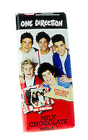One Direction Bar of Chocolate - Jan 2014.