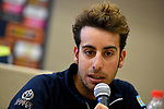 Fabio Aru (ITA)Astana at the top riders press conference on the eve of the race of the two seas, 52nd Tirreno-Adriatico by NamedSport running from the 8th to 14th March, Italy. 7th March 2017.<br /> Picture: La Presse/Fabio Ferrari | Cyclefile<br /> <br /> <br /> All photos usage must carry mandatory copyright credit (&copy; Cyclefile | La Presse)