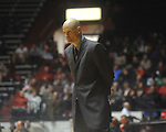 "Ole Miss head coach Andy Kennedy at the C.M. ""Tad"" Smith Coliseum in Oxford, Miss. on Saturday, December 18, 2010.Ole Miss won 71-50."