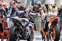 Jorge Lorenzo and Marc Marquez will run in Moto GP category in 2013