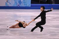 OLYMPICS: SOCHI: Iceberg Skating Palace, 11-02-2014, Figure Skating, Pair Short Program, Qing Pang and Jian Tong (CHN), ©photo Martin de Jong