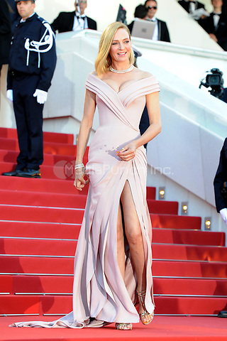 Uma Thurman at the Opening Movie &acute;Les Fantomes d Ismael` screening during The 70th Annual Cannes Film Festival on May 17, 2017 in Cannes, France.<br /> CAP/LAF<br /> &copy;Lafitte/Capital Pictures /MediaPunch ***NORTH AND SOUTH AMERICAS, CANADA and MEXICO ONLY***
