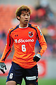 Takuya Aoki (Ardija),.APRIL 7, 2012 - Football / Soccer :.2012 J.League Division 1 match between Omiya Ardija 0-3 Cerezo Osaka at NACK5 Stadium Omiya in Saitama, Japan. (Photo by AFLO)