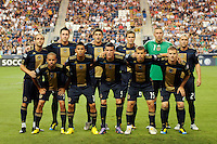 Philadelphia Union starting eleven. The Columbus Crew defeated the Philadelphia Union 2-1 during a Major League Soccer (MLS) match at PPL Park in Chester, PA, on August 05, 2010.