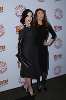 HOLLYWOOD, CA - OCTOBER 18: Cassandra Peterson, Dita Von Teese attends the launch party for Cassandra Peterson's new book 'Elvira, Mistress Of The Dark' at the Hollywood Roosevelt Hotel on October 18, 2016 in Hollywood, California. (Credit: Parisa Afsahi/MediaPunch).