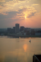 1978 May ..Redevelopment.Downtown South (R-9)..WATERFRONT VIEW.FROM PORTSMOUTH...NEG#.NRHA# 5632..