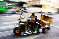 Tuk tuk taxiTaxi, Bangkok, Thailand