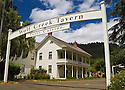 Historic Wolf Creek Inn is an Oregon State Park operated as a restaurant and B&B.
