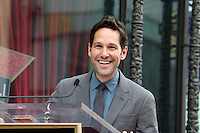 Paul Rudd Star on the Hollywood Walk of Fame Ceremony